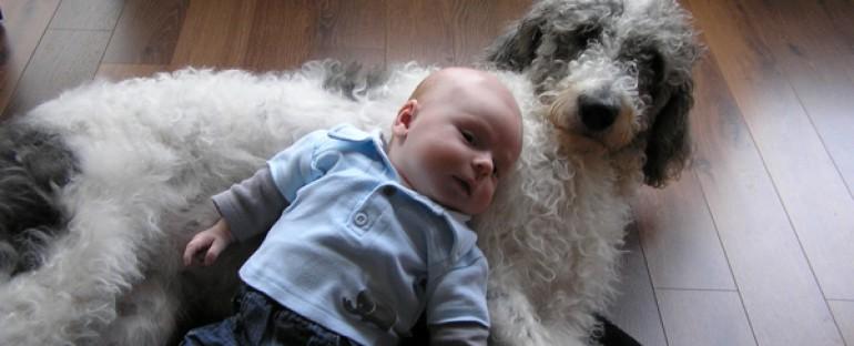 Zusje van Bokita met baby